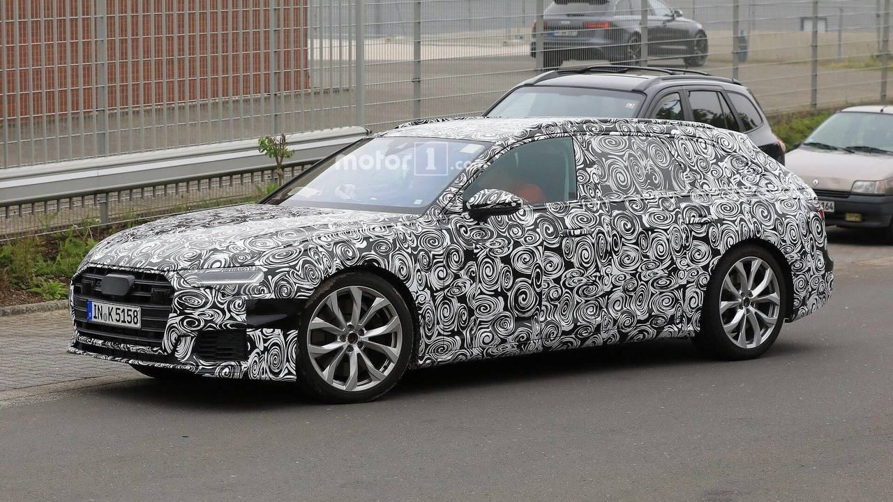 new audi s6 avant caught making generous use of camouflage. Black Bedroom Furniture Sets. Home Design Ideas