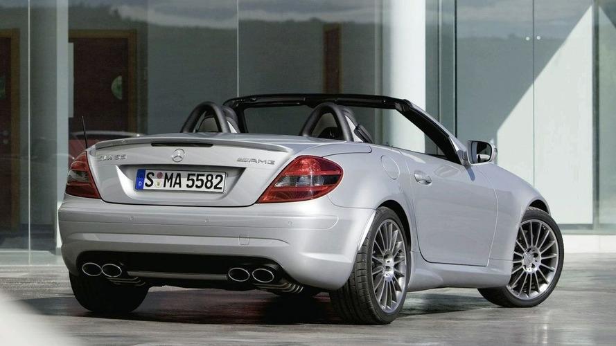 Official: Mercedes SLK 55 AMG Facelift