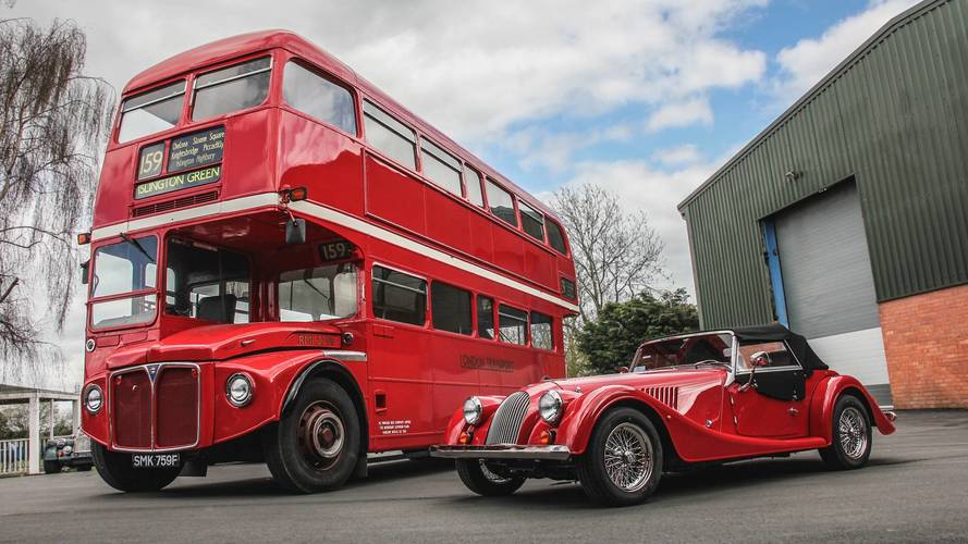Morgan acquiert un magnifique bus Routemaster