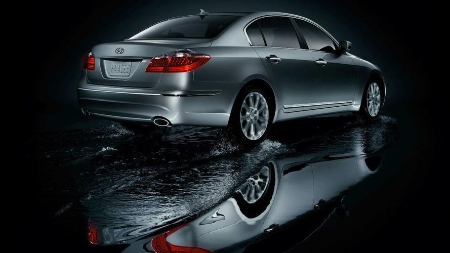 Detroit Debut for Hyundai Genesis Premium Sports Sedan