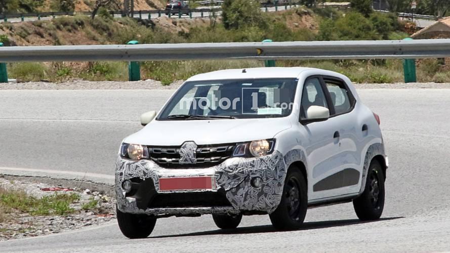 Renault Kwid, hafif makyajını gizlerken görüldü