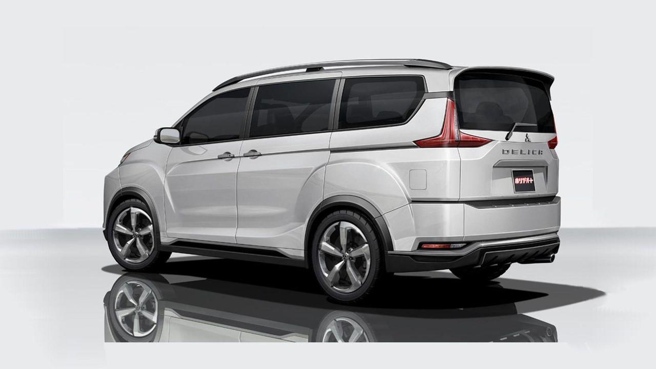 Mitsubishi Delica Concept Surfaces Ahead Of Tokyo Debut