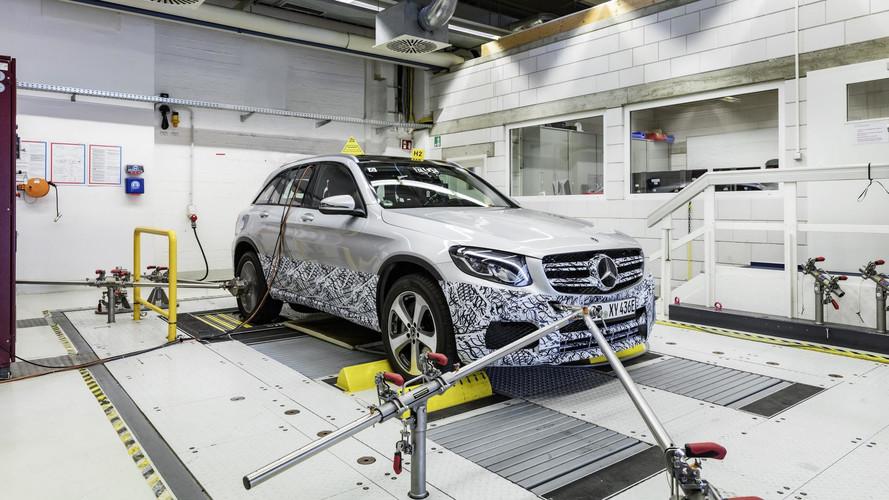 Mercedes GLC F-Cell yavaş yavaş tanıtılıyor