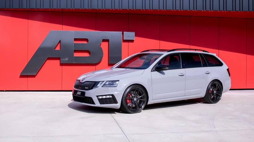 Skoda Octavia RS By ABT Looks Normal, But Hides A Secret: 315 HP