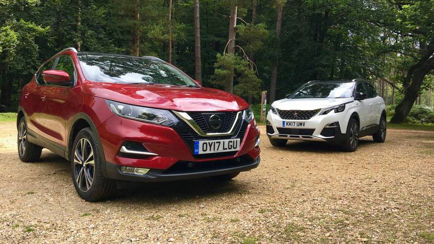 Peugeot 3008 SUV vs Nissan Qashqai: Where should your money go?