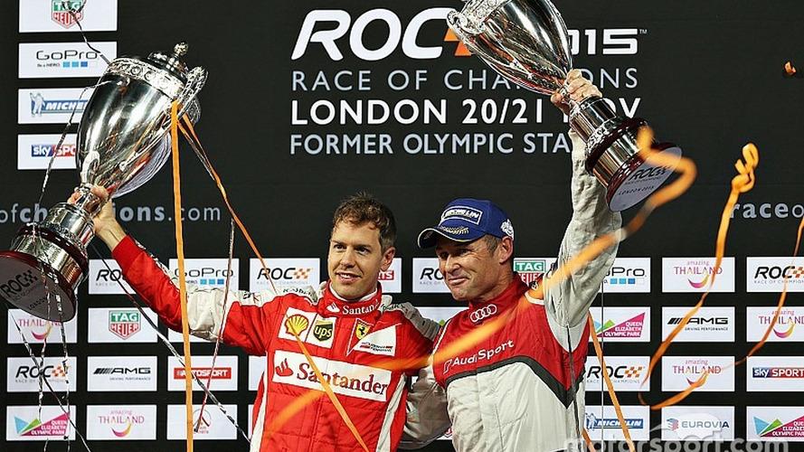 Sebastian Vettel wins Race of Champions, defeats Tom Kristensen