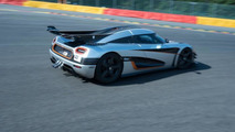Koenigsegg One:1 at Spa-Francorchamps