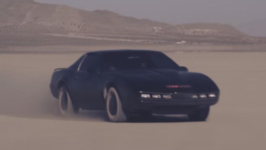 Knight Rider Heroes reunites David Hasselhoff & KITT [video]