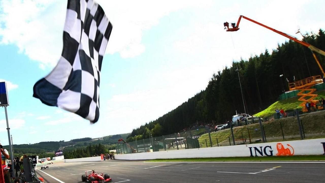Kimi Raikkonen wins Belgian Grand Prix at Spa