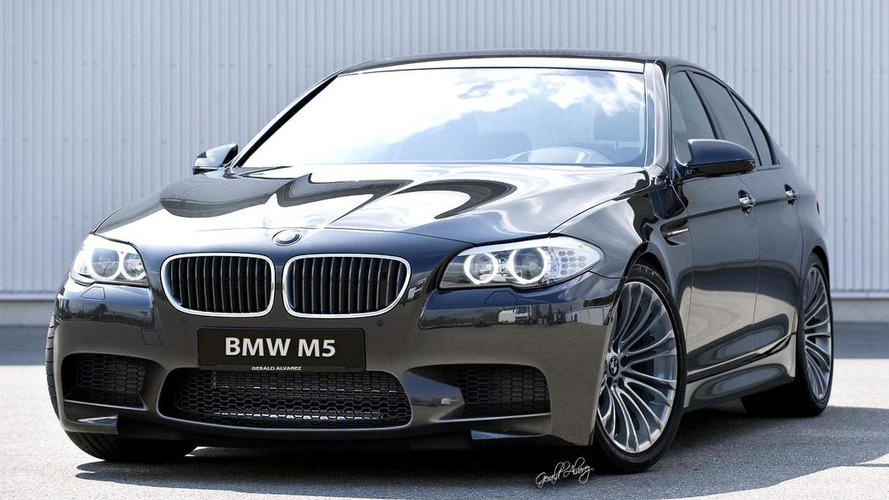 2012 BMW M5 F10 rendered