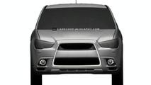 Mitsubishi Compact Crossover Design Illustrations