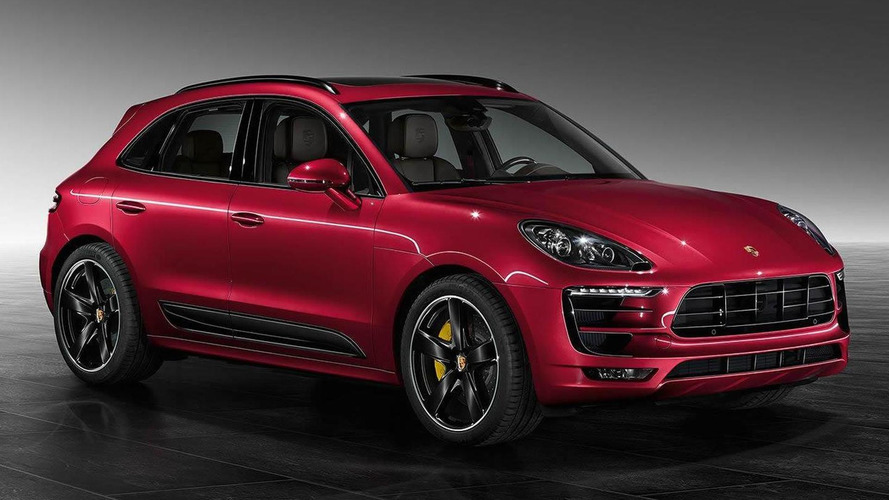 Porsche Exclusive unveils Macan Turbo with Impulse Red Metallic paint