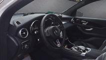 Mercedes-Benz GLC interior spy photo / auto.163.com