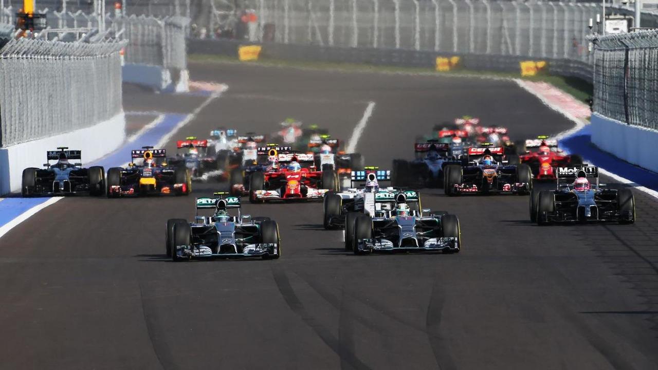 Nico Rosberg (GER) and team mate Lewis Hamilton (GBR) / XPB