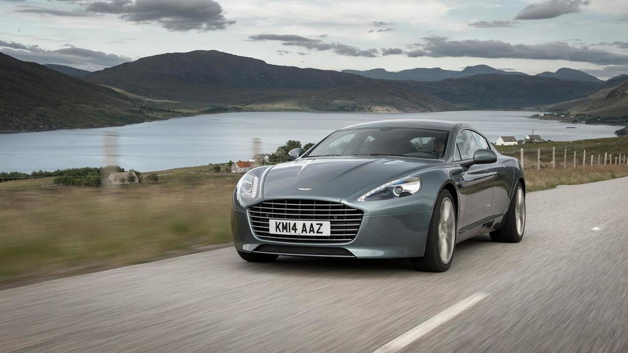 Aston Martin Rapide EV in the works, could have up to 1000 bhp