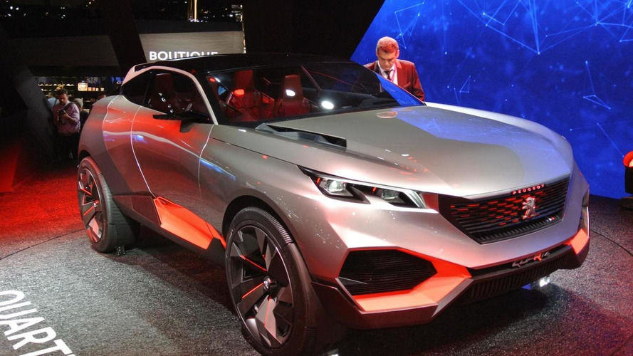 Quartz concept shows Peugeot's SUV of the future in Paris