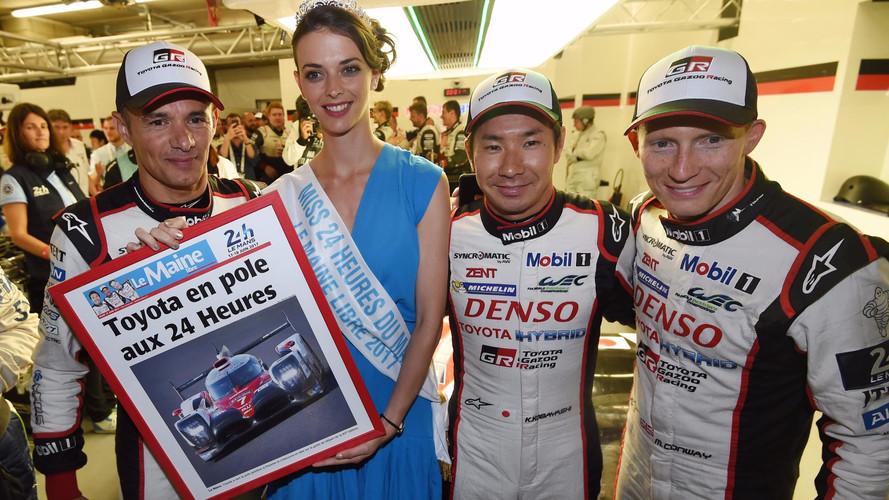24 Heures du Mans - Toyota s'offre une pole position record
