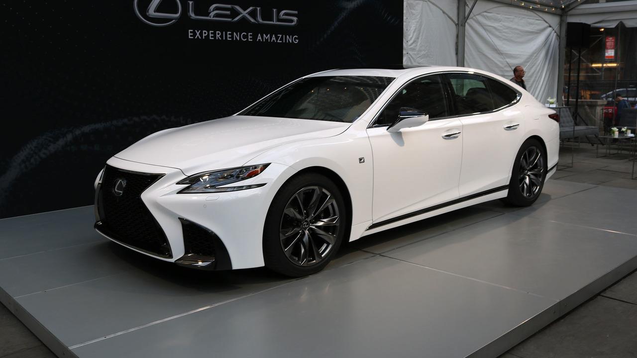 2018 Lexus LS 500 F Sport | Motor1.com Photos