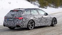 Audi RS4 Avant Spy Pics