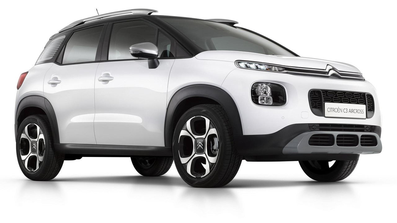 2017 citroen c3 aircross official gallery photos. Black Bedroom Furniture Sets. Home Design Ideas