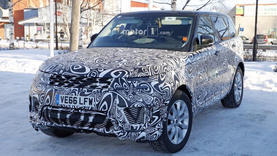 2018 Range Rover Sport plug-in hybrid spy photos