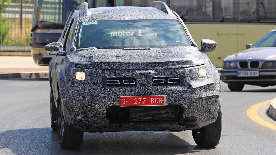 Dacia Duster photos espion