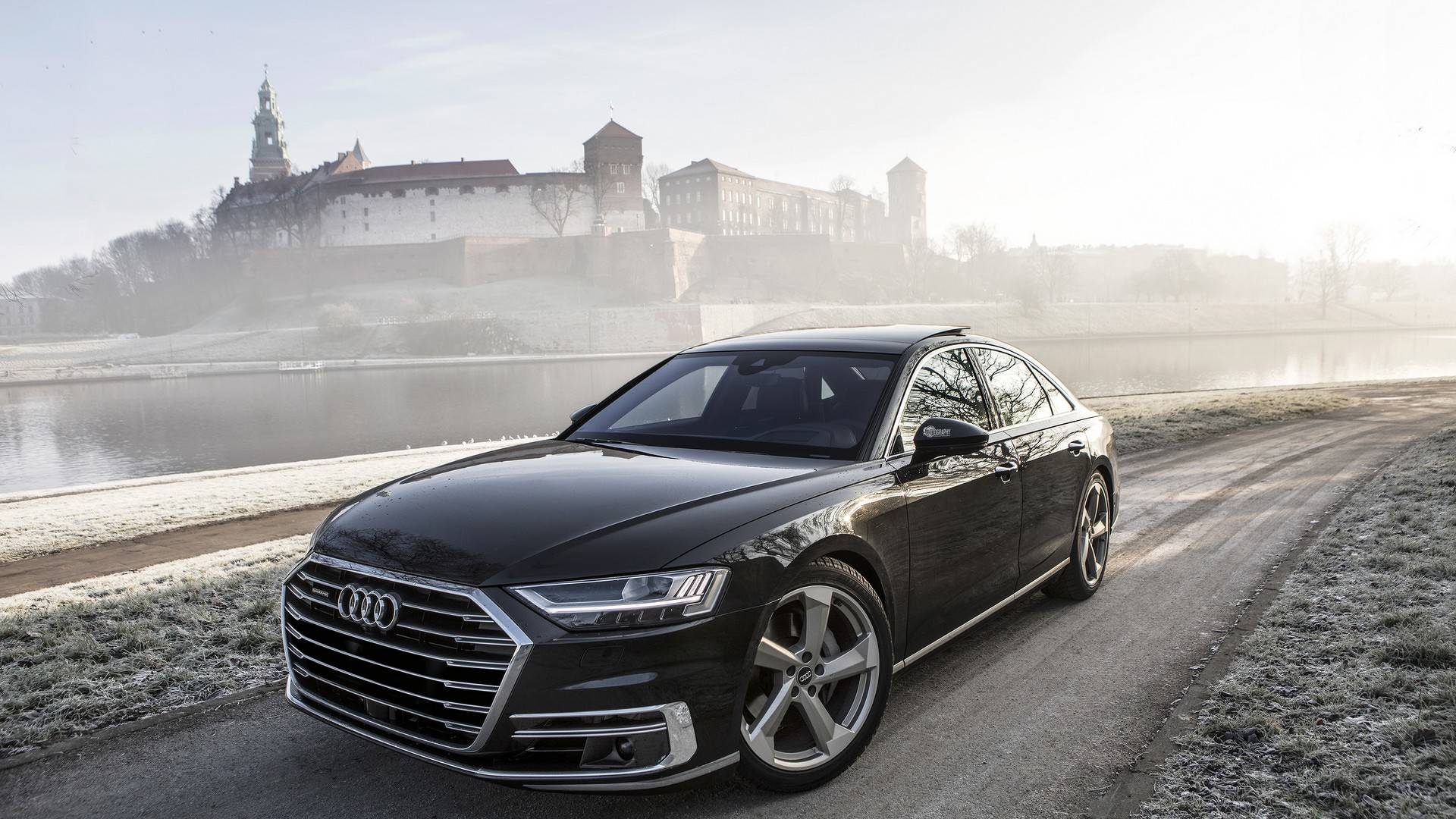 Find out how quick the v6 gas powered new audi a8 is sciox Image collections