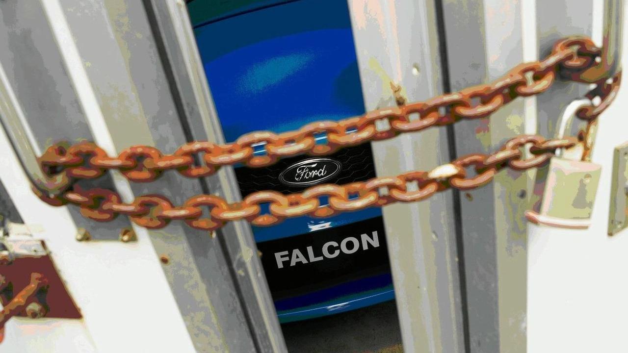 New eigth generation Ford Falcon