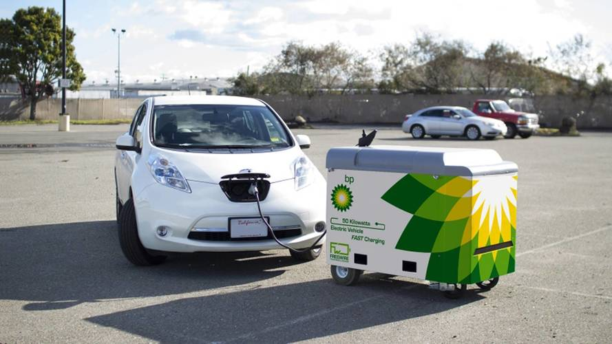 BP to offer electric car charging at petrol stations