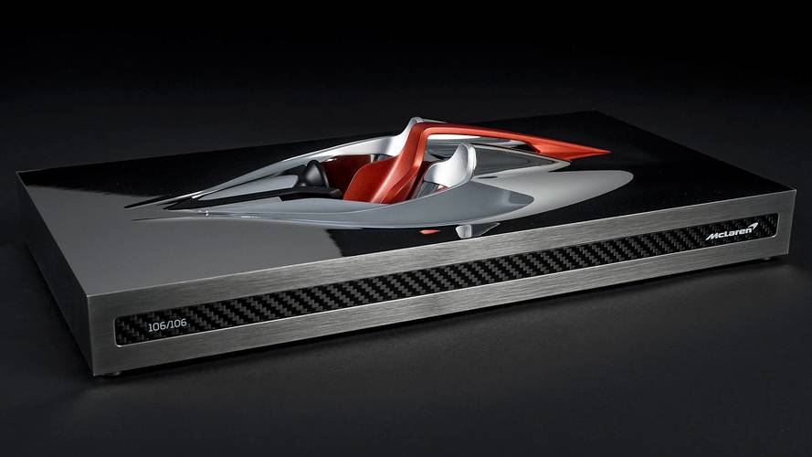 "McLaren BP23 ""Speed Form"", una scultura anticipa la nuova Hyper-GT"