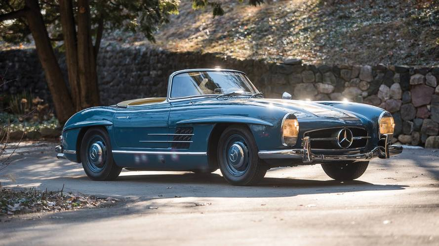 this mercedes 300 sl looks worth the estimated 1 2m for auction. Black Bedroom Furniture Sets. Home Design Ideas