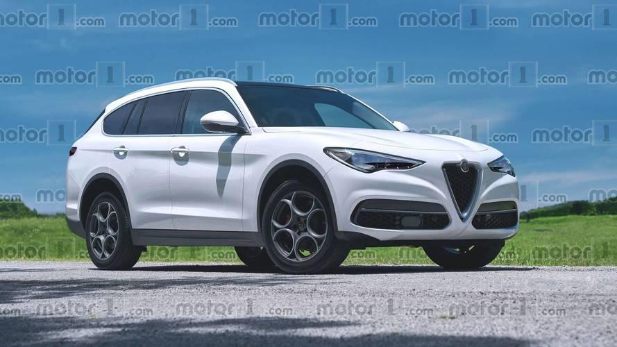 Nos imaginamos el SUV grande de Alfa Romeo