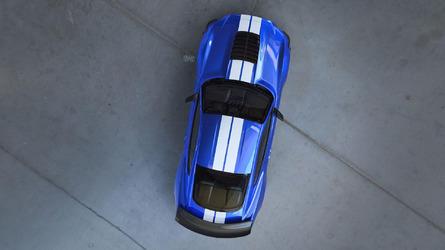 Première apparition de la Ford Mustang Shelby GT500