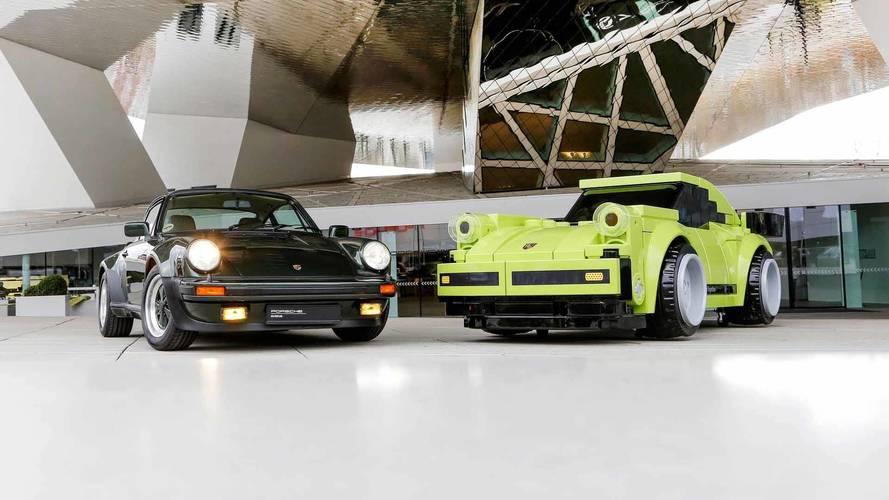 Une Porsche 911 Turbo grandeur nature en Lego !
