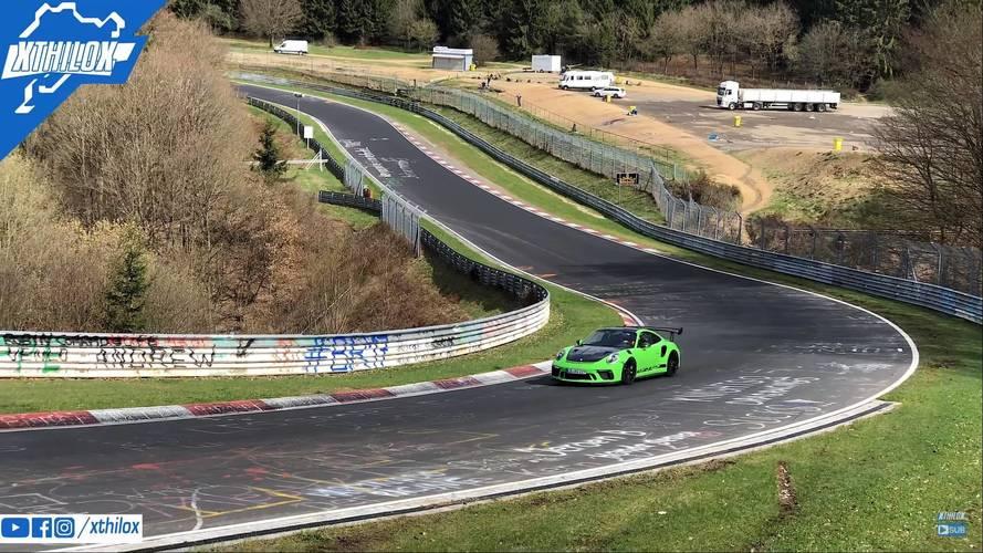 7 perc alatti nürburgringi köridőt futhatott a Porsche 911 GT3 RS