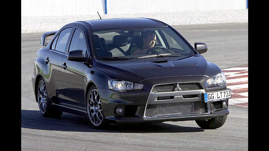 Eine (R)Evolution? Der Mitsubishi Lancer Evolution im Test