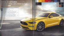 2018 Ford Mustang Order Guide Leak