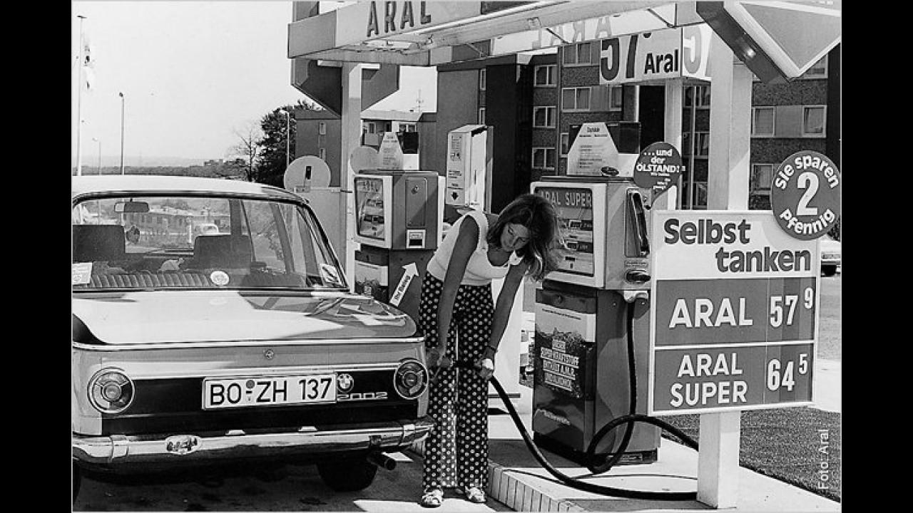 1970: 56,8 Pfennige (Steueranteil: 71,6 Prozent)
