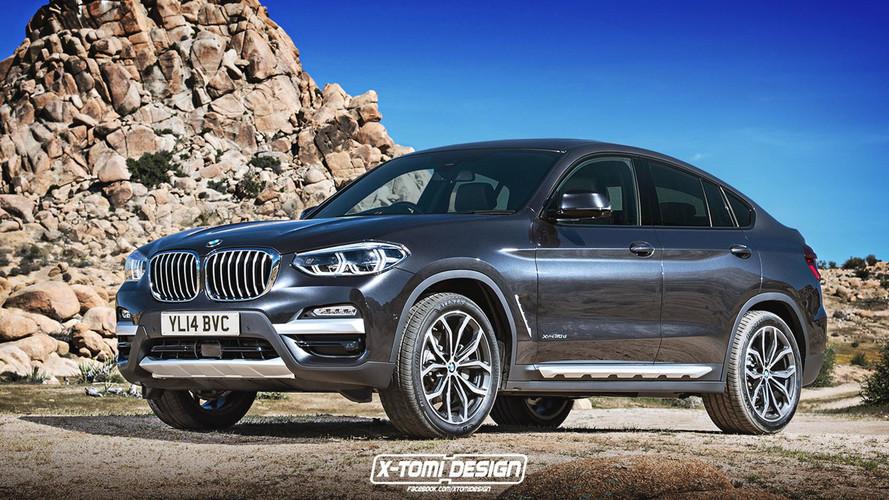 Máris elkészült az X3-ra alapjaira épített BMW X4 digitális változata