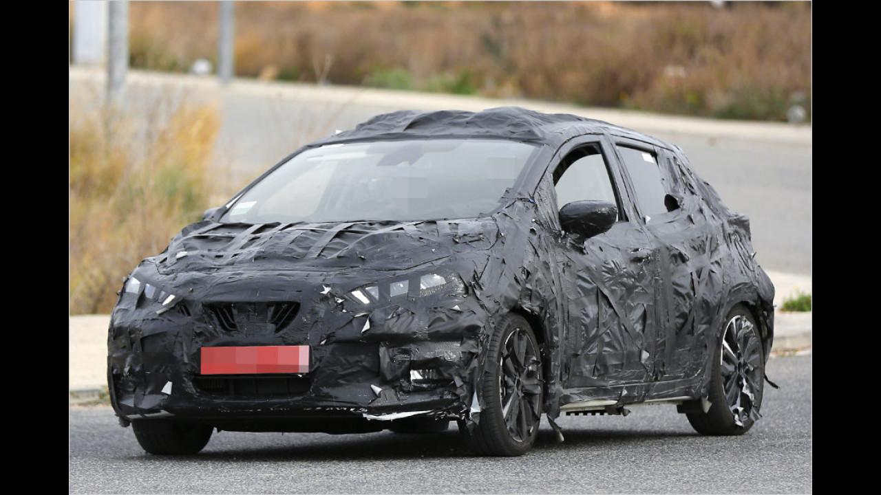Erwischt: Nissan Micra