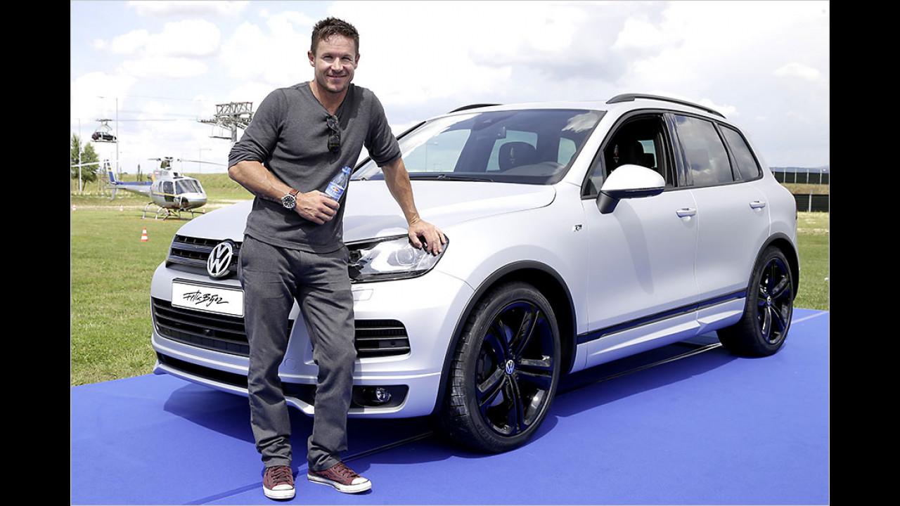 Felix Baumgartner: VW Touareg