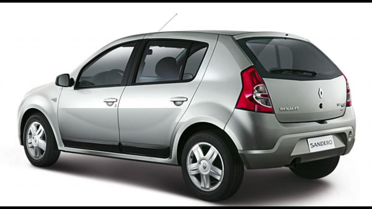 Linha 2010 do Renault Sandero e Logan traz pequenas modificações