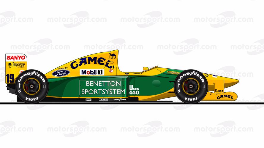 Benetton B192 - Ford