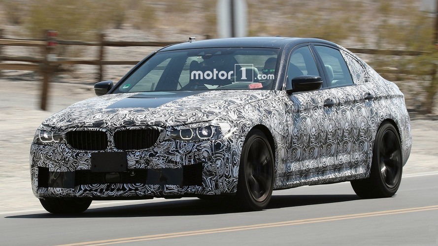 2018 BMW M5 New Details Emerge Revealing 8-Speed Auto, 600+ HP