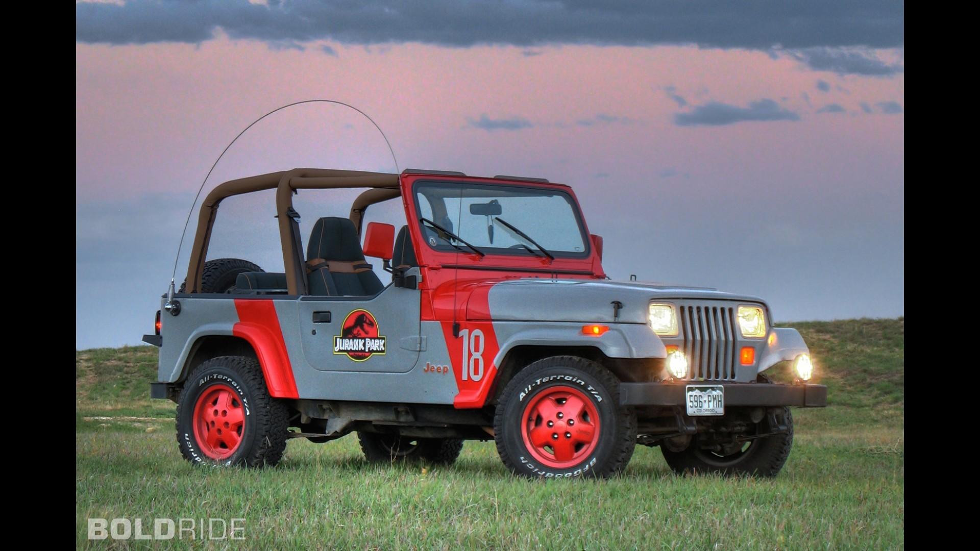 1999 Jeep Wrangler For Sale >> Jeep Wrangler Jurassic Park