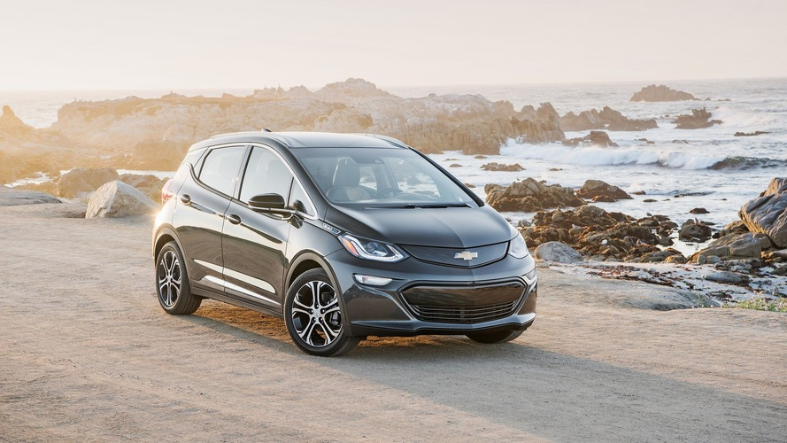 Chevy Bolt named North American Car of the Year