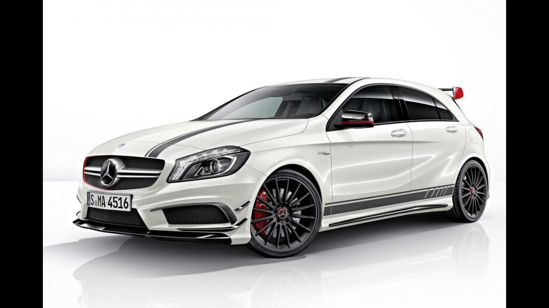 mercedes benz a45 amg edition 1