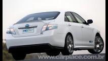 Novo Conceito HC-CV adianta como será o Toyota Camry Híbrido