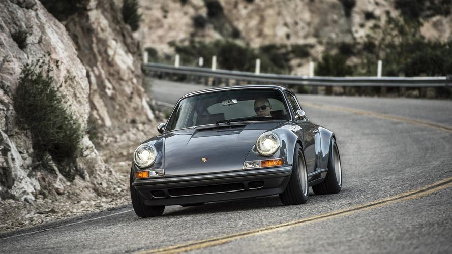 Singer'ın son Porsche 911 modifikasyonu Monterey'de görücüye çıktı