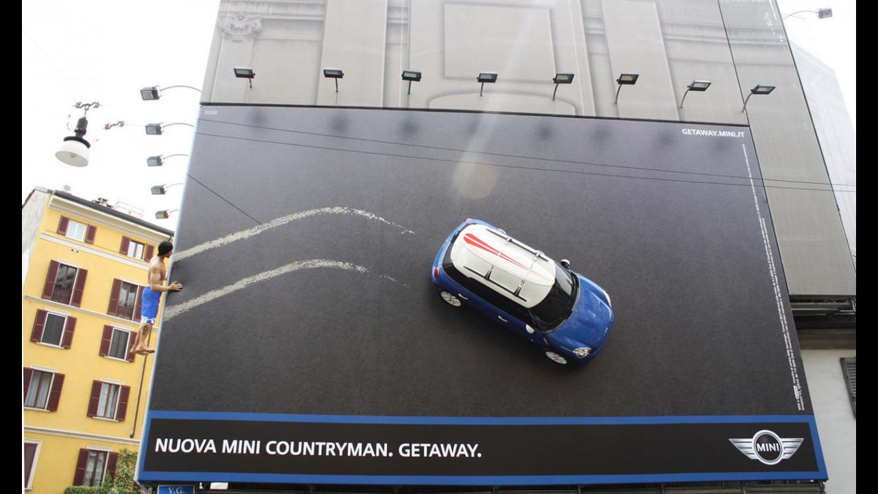 MINI Countryman: affissioni 3D